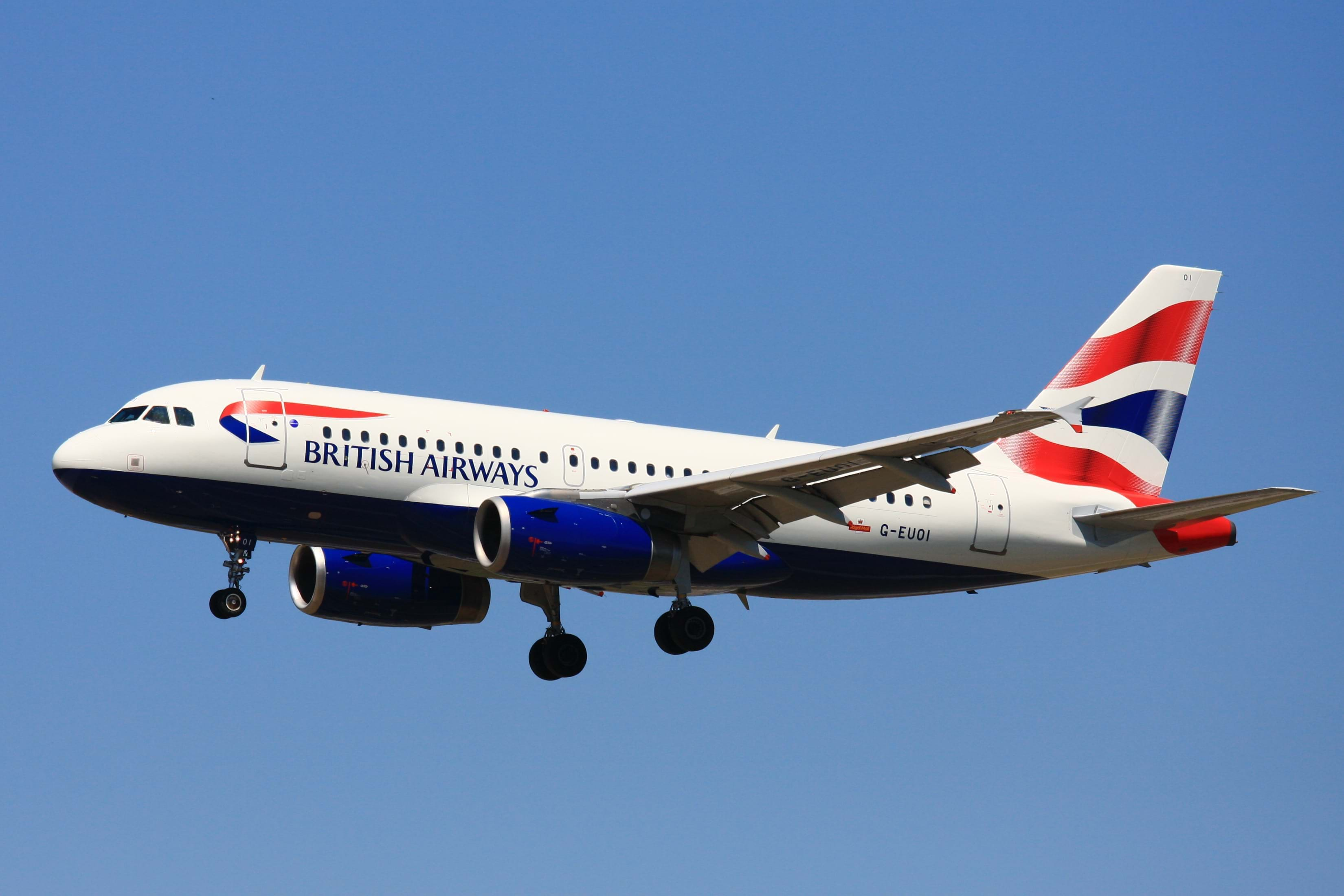 British Airways flights booking