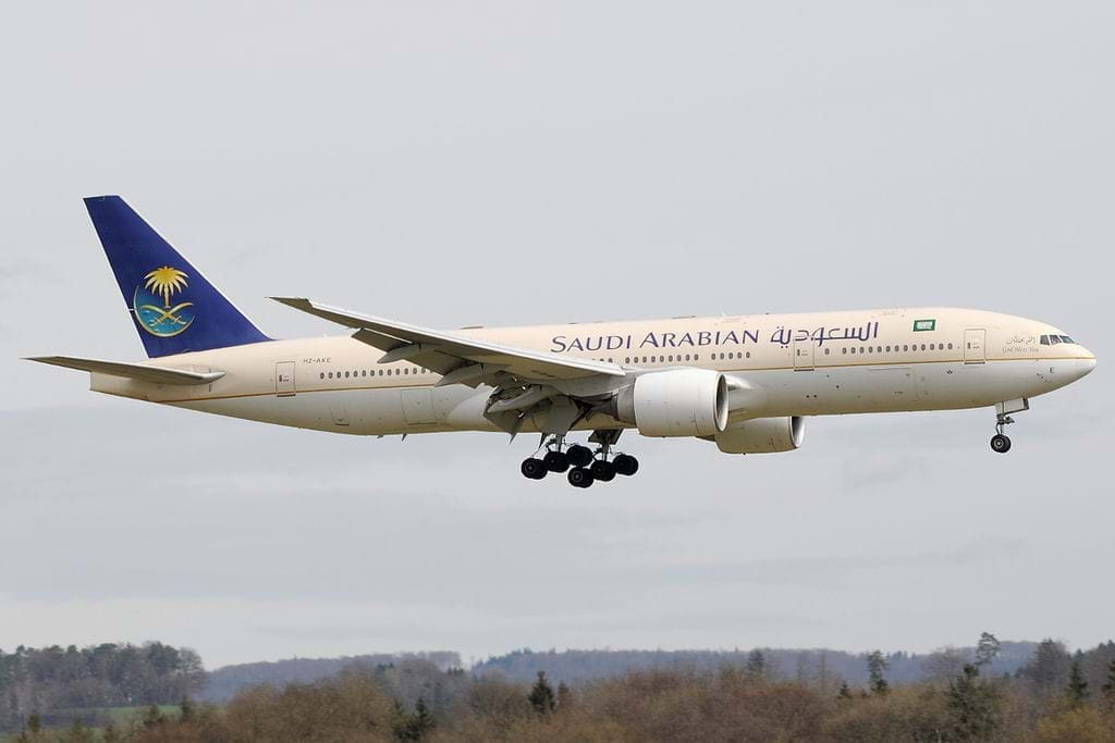 Saudi Airlines Check-in